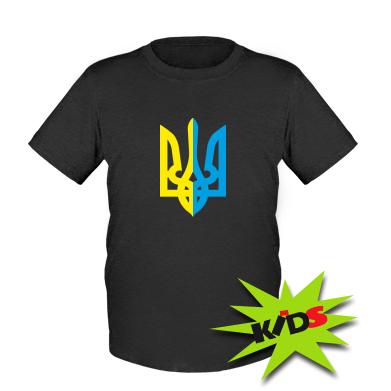 Купити Дитяча футболка Двокольоровий герб України