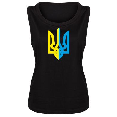 Купити Майка жіноча Двокольоровий герб України