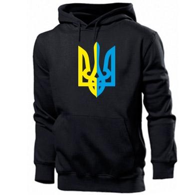 Мужская толстовка Двокольоровий герб України