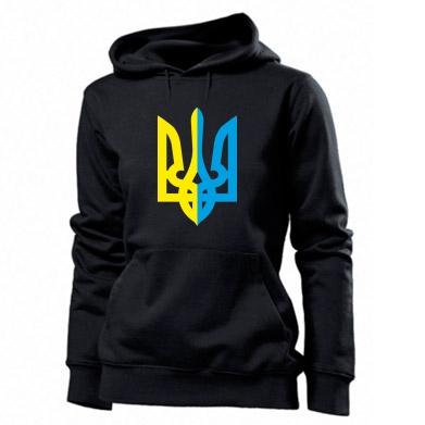 Купити Толстовка жіноча Двокольоровий герб України