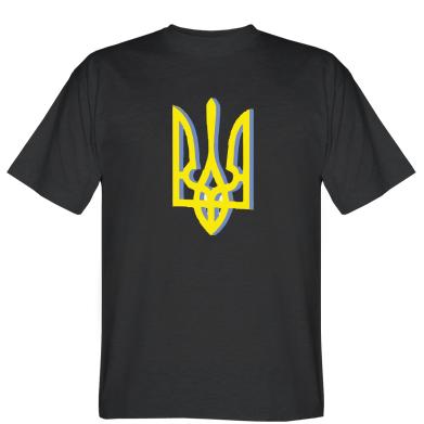 Футболка Двокольоровий герб України