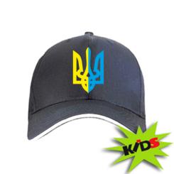 Купити Дитяча кепка Двокольоровий герб України