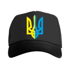 Купити Кепка-тракер Двокольоровий герб України