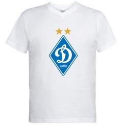 Купити Чоловічі футболки з V-подібним вирізом Dynamo Kiev
