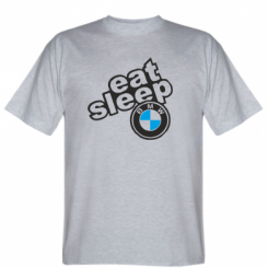 Футболка Eat, sleep, BMW