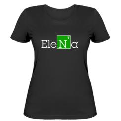 Жіноча футболка Elena