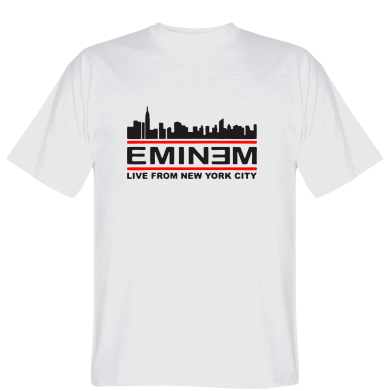Футболка EMINEM live from New York City