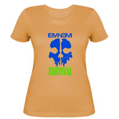 Купити Жіноча футболка Eminem Survival