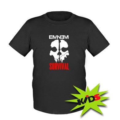 Купити Дитяча футболка Eminem Survival