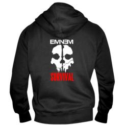Купити Чоловіча толстовка на блискавці Eminem Survival
