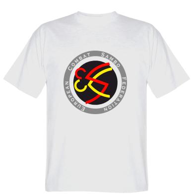 Футболка European combat sambo federation