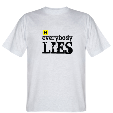 Футболка Everybody LIES House