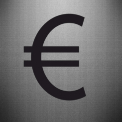 Наклейка Евро
