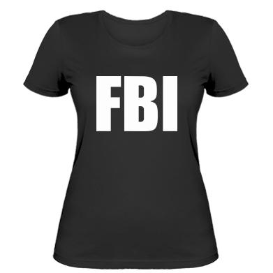 Купити Жіноча футболка FBI (ФБР)