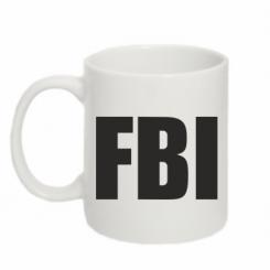 Купити Кружка 320ml FBI (ФБР)