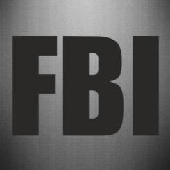 Купити Наклейка FBI (ФБР)