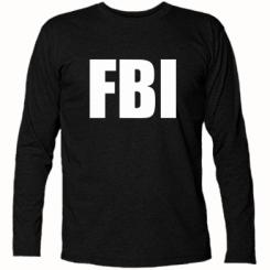 Купити Футболка з довгим рукавом FBI (ФБР)