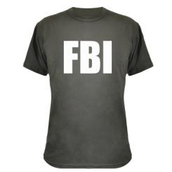 Купити Камуфляжна футболка FBI (ФБР)