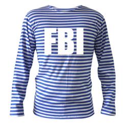 Купити Тільняшка з довгим рукавом FBI (ФБР)