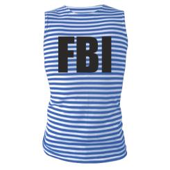 Купити Майка-тільняшка FBI (ФБР)