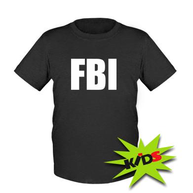 Купити Дитяча футболка FBI (ФБР)