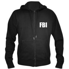 Купити Чоловіча толстовка на блискавці FBI (ФБР)