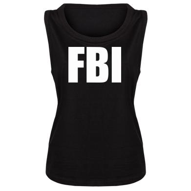 Купити Майка жіноча FBI (ФБР)