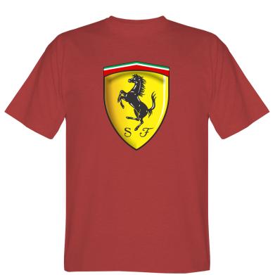 Футболка Ferrari 3D Logo