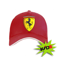 Дитяча кепка Ferrari 3D Logo