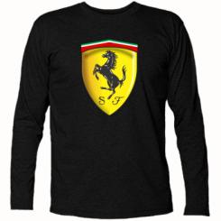 Футболка з довгим рукавом Ferrari 3D Logo