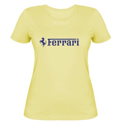 Купити Жіноча футболка Ferrari