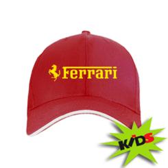 Купити Дитяча кепка Ferrari