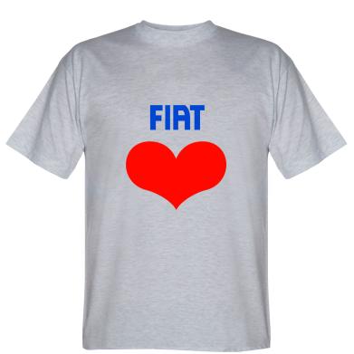 Футболка Fiat love