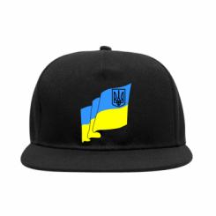 Снепбек Прапор з Гербом України