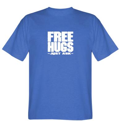 Футболка Free hugs