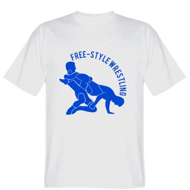Футболка Free-style wrestling