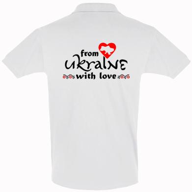 Футболка Поло From Ukraine (вишиванка)