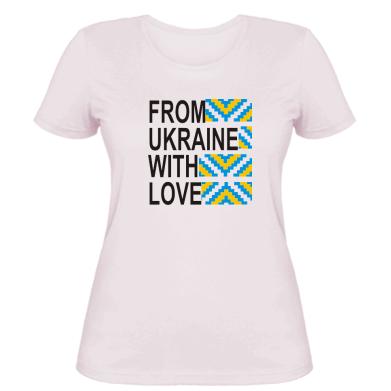 Жіночі футболки Патріотам України - купити в Києві 79ca4e2eb4968