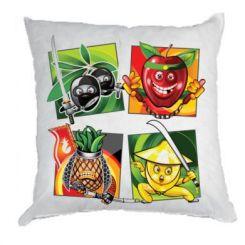 Подушка Fruit Ninja