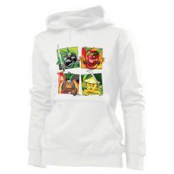 Толстовка жіноча Fruit Ninja