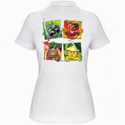 Жіноча футболка поло Fruit Ninja