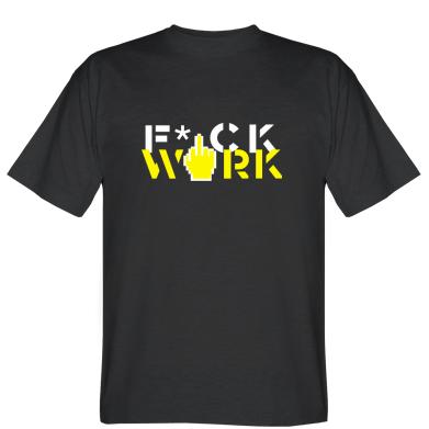 Футболка Fuck work