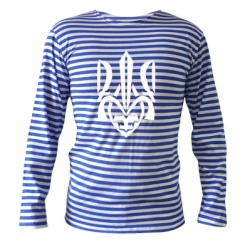 Тельняшка с длинным рукавом Гарний герб України