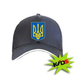 Купить Детская кепка Герб неньки-України
