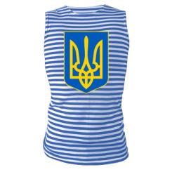 Купити Майка-тільняшка Герб неньки-України