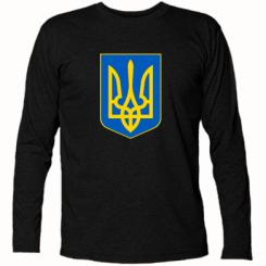 Купить Футболка с длинным рукавом Герб неньки-України