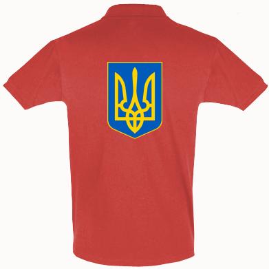Купить Футболка Поло Герб неньки-України
