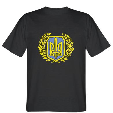 Футболка Герб Правого Сектору у вінку