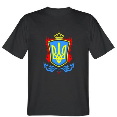 Футболка Герб України кольоровий