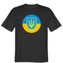 Футболка Герб України на прапорі